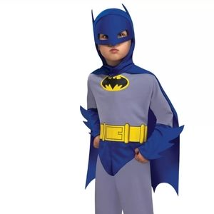Toddler batman rubies costume romper 1-2yrs